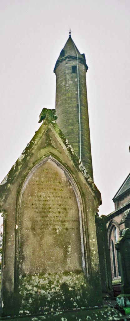 George ARNOTT died 1842 & w Isabella KINNEAR died 1839 tombstone Brechin Scotland.