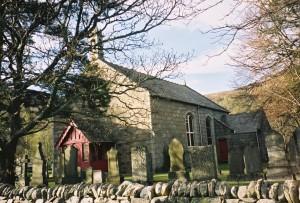 The chuch in Kinloch Rannoch, built after my ancestor Neil left.