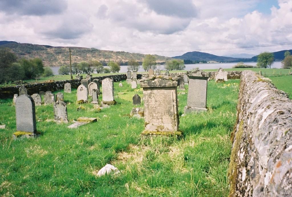 Killichonan Cemetery, Loch Rannoch