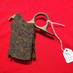 Sten Gun magazine loader relic dug up at the bridge at Arnhem.