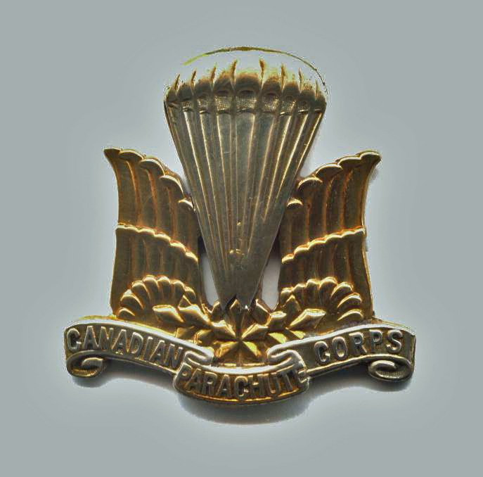 WANTED - 1 Canadian Parachute Battalion Officers' badge (front)