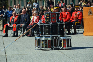 2016-03-31 RCMP The old mace on the drumhead at Surrey BC (105)