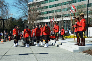 2016-03-31 RCMP Band new mace ceremony, retrieving drums Surrey BC (150)