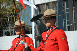 2016-03-31 RCMP sentries at the new mace ceremony, Surrey BC (33)