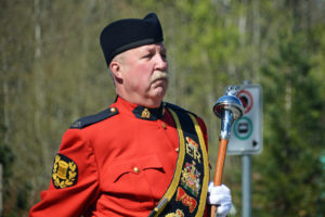 2016-03-31 RCMP Band Drum Major with the old mace Surrey BC (49)