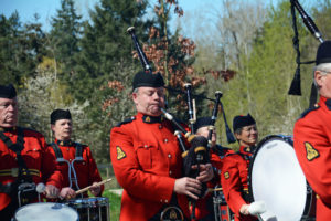 2016-03-31 RCMP Band marching to the new mace ceremony, Surrey BC (53)