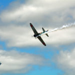 "Japanese Zero ""going down"". 2016-08-07 Hillsboro Air Show (360)"