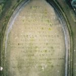 Tombstone of George ARNOTT died 1842-05-18 aged 64 and wife Isabella KINNEAR died 1839-11-16 aged 49 BRECHIN visit 2005 May by Colin M Stevens #180 p.26 ANGUS MI Vol 1