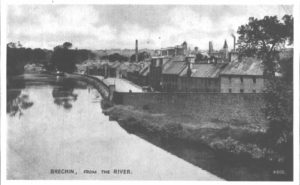 Brechin River St J. B. White post card #4800