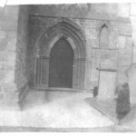 Brechin Catherdral archway 1912 Wm. Arnott Stevens photo