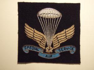 Canadian SAS Association Commemorative blazer crest.