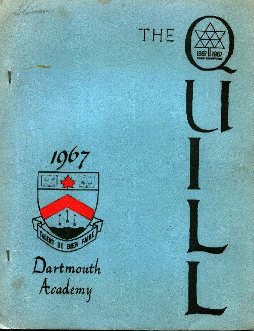 Dartmouth Academy - The Quill 1967