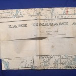 Map 1945 Lake Timigami Area (1)