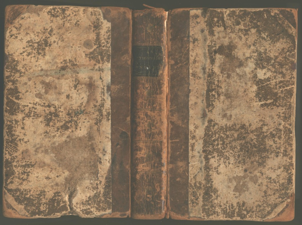 1828 New Testament in Gaelic - Cover