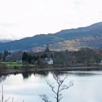 Kinloch Rannoch Southern part of the village from MacDonald Loch Rannoch Hotel