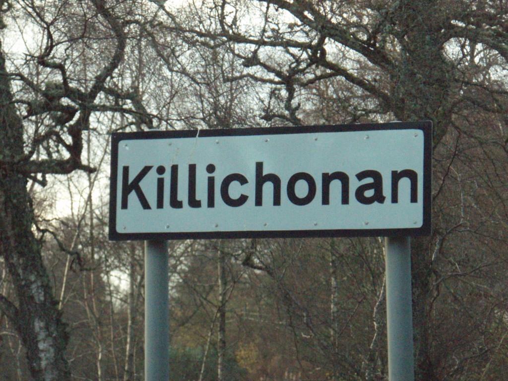 Killichonnan sign