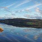Loch Rannoch calm waters
