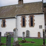 Fortingall Parish Church - rear by CMS