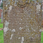 Tombstone of John MacGregor & Flora MacNaughton in Fortingall Churchyard. Photo by CMS