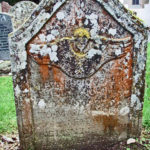 Donald McGrigor son to Malcum & Cathrine Menzies 1783. Tombstone in Fortingall Churchyard. Photo by CMS.