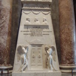 Memorial to Bonnie Prince Charlie at St Peters Rome