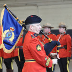 RCMP Piper at a Change of Command Parade