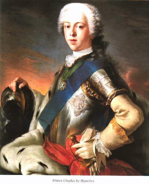 Bonnie Prince Charlie by Blanchet. From the book Bonnie Prince Charlie by Fitzroy MacLean