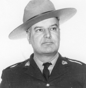 Sgt. Ted Brue in RCMP Stetson