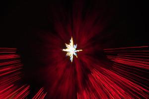 The Star - Van Deusen Gardens Xmas Lights 2012-12-27 by Colin M Stevens