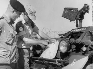 Ferrets 54-82585 54-82585 with UNFICYP in Cyprus. RCD troops.