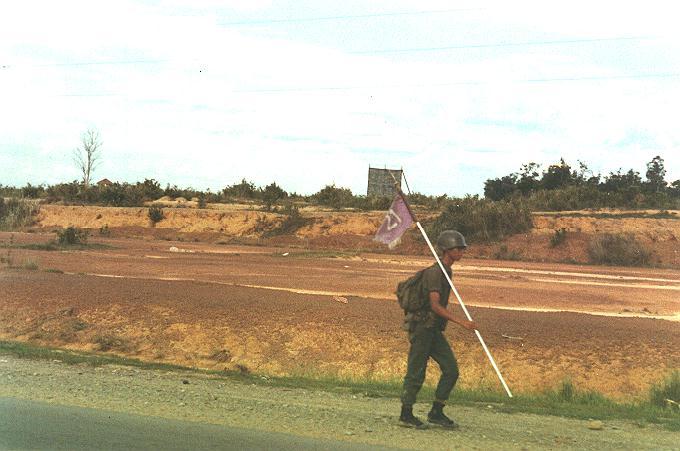 ARVN_staff_&_flag