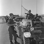 Canadian Army Ferret MK. I CAR 54-82601 with UNFICYP in Cyprus in 1964