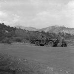 Ferret under fire UNFICYP Cyprus 1964 DND photo CYP64-31-10