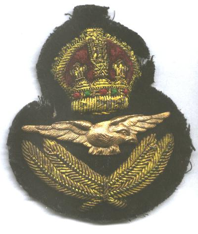 Paul Goranson_cap_badge_RCAF Colin Stevens' Collection
