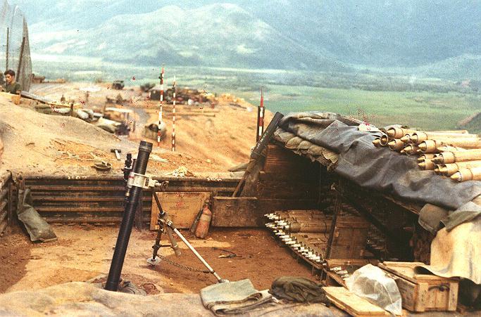 Vietnam Mortar Fire : Vietnam war ptainstevens