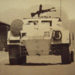 Canadian Ferret MK. I, UNEF 1226 (CAR unknown). Photo - Royal Canadian Dragoons Archives