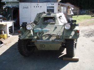 Ferret MK. I 54-82598 - Front