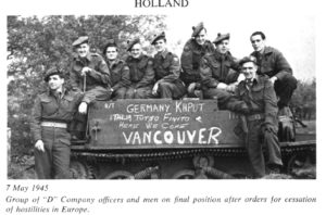 Universal Carrier Mark I shown in 1945 in the Netherlands. The mud guard has been removed.