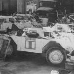 UNEF Ferrets 1215 1210 1214 Tank Mus Bovington 4988 E5 -- p19 Ferret by PW