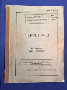 FERRET MK I USER HANDBOOK