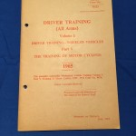 TRAINING OF MOTORCYCLISTS 1965 UK