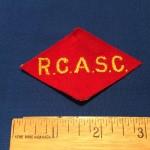 Cdn Corps RCASC front