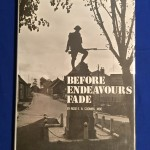 BEFORE ENDEAVOURS FADE Guide to WWI Battlefields