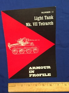 ARMOUR IN PROFILE Number 11 LIGHT TANK