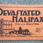 Halifax Explosion 1917 souvenir booklet - cover
