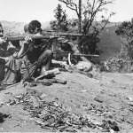 Sniper M1903A4 apparently in Burma WWII