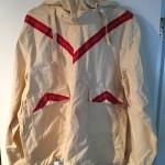 WWII US white ski jacket V ribbons 10 Mtn Div