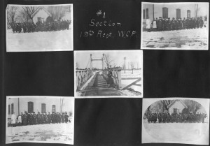 p74 #1 Section 19th Regt Welland Canal Force circa 1915