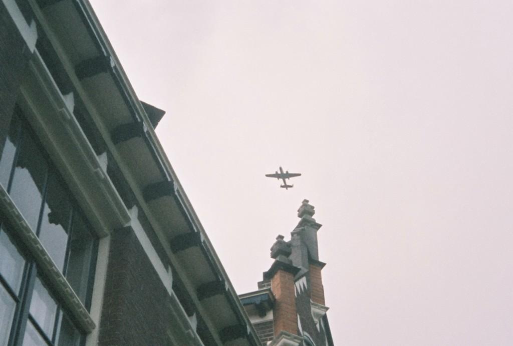 B-25 bomber over Apeldoorn 2005