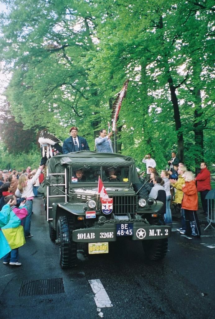 Truck with veterans Apeldoorn 2005